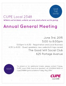 Click here to download the AGM poster!